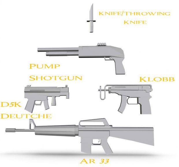 Newer Gun Renders...