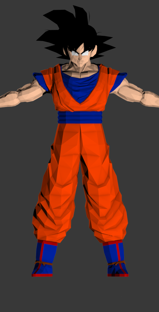 Goku with new lower(Lower by Nello)