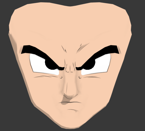 Goku Face New
