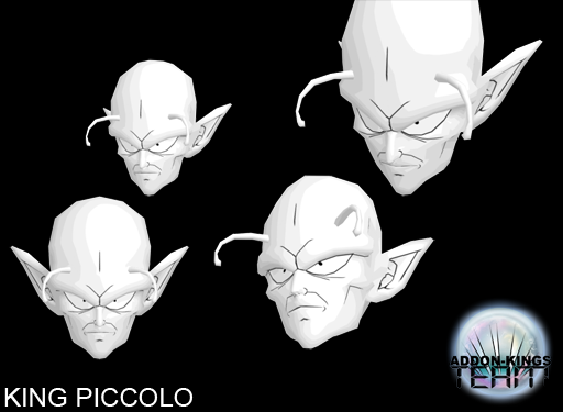 King Piccolo Head