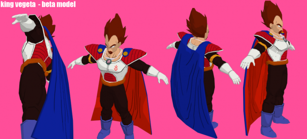 KingVegeta model Beta