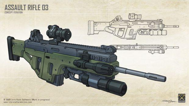 Assault Rifle 03