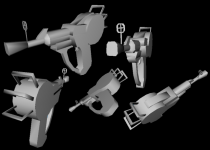 Ray Gun Model