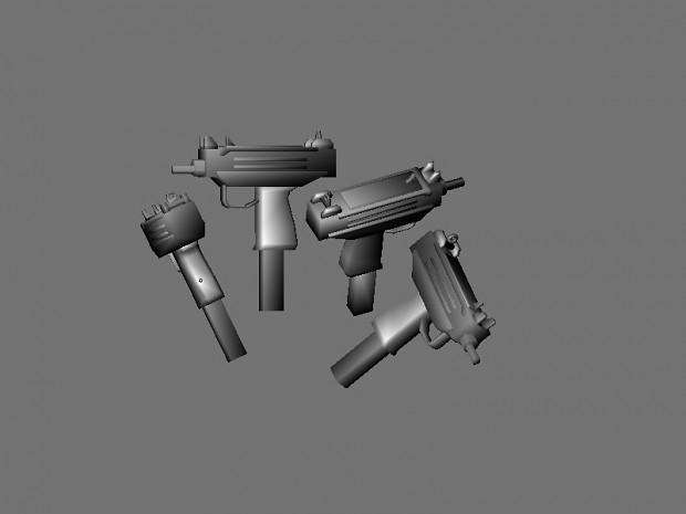MP5 + Uzi image - Nazi Zombies Portable - Mod DB