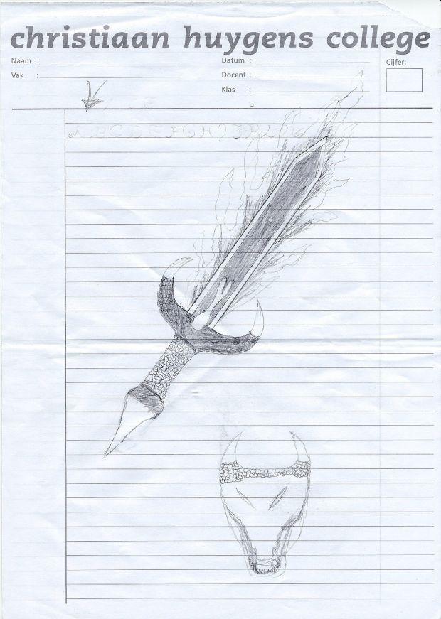 Dracomancer weapon concepts