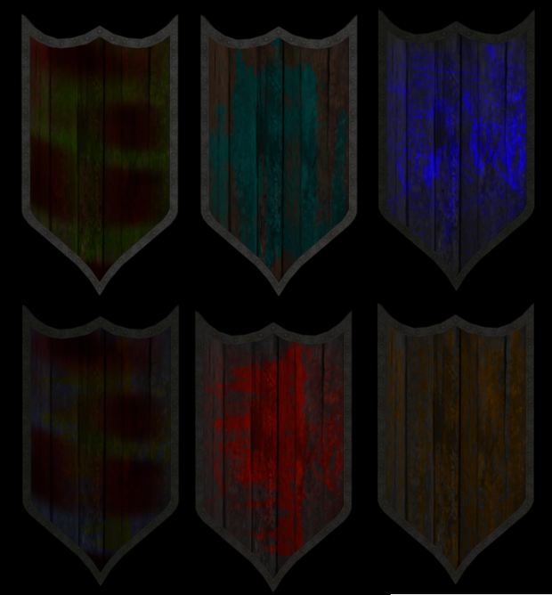 Shield - RC Set 01 - Texture examples