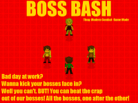 Boss Bash! New Game Mode!