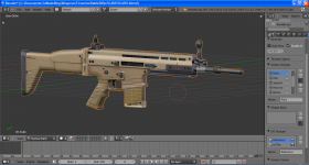 SCAR_H Texture in Progress