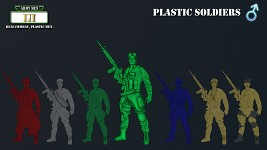 Concept Art - Plastic Soldiers (Male)