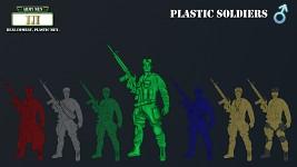 Concept Art - Plastic Soldiers (Male)