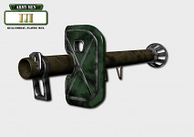 Army Men Weapons - Rocket Launcher