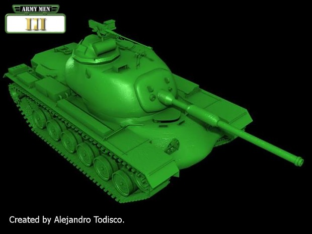 Army Men III Vehicles - Medium Tank