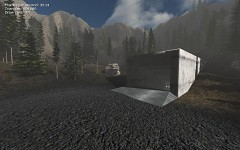 Old map redone for Neo Axis 2.1. Shooting Range