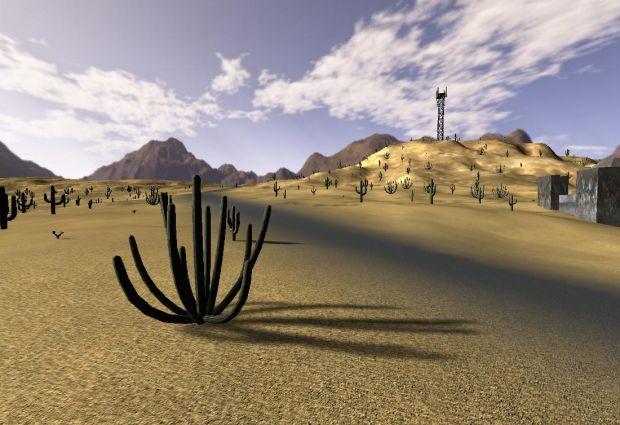 New Desert Map.