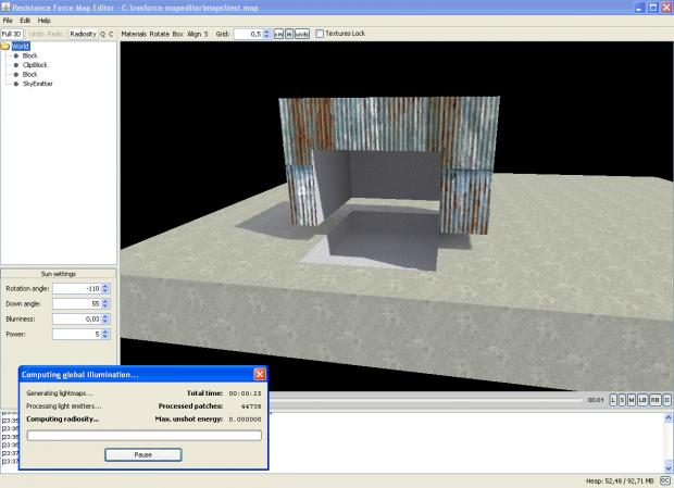 Map Editor screenshots