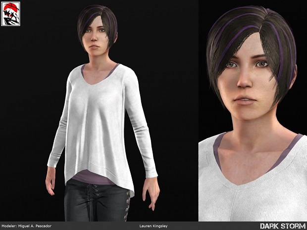Lauren Dark Storm Ascension. In-game Model