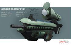 Assault Beamer - Concept