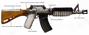 Charger's Assault Rifle - Annotated
