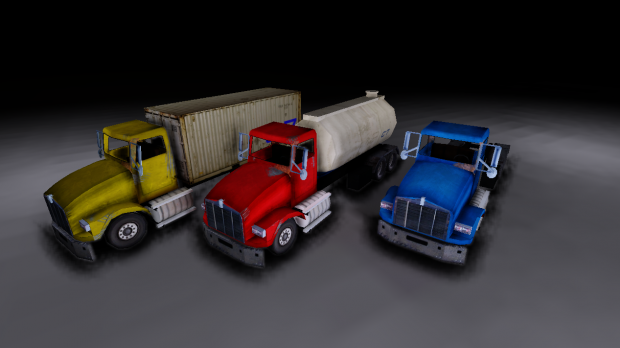 Multiple Industrial Trucks