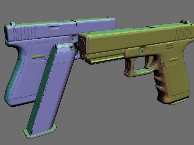 Glock 21 - W.I.P.
