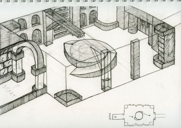 Concept Drawings from Devil's Tuning Fork