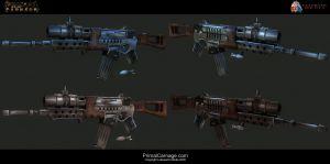 Primal Carnage-Concept Art