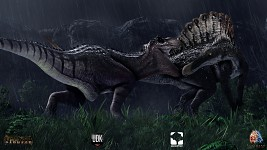 T-Rex VS Spino