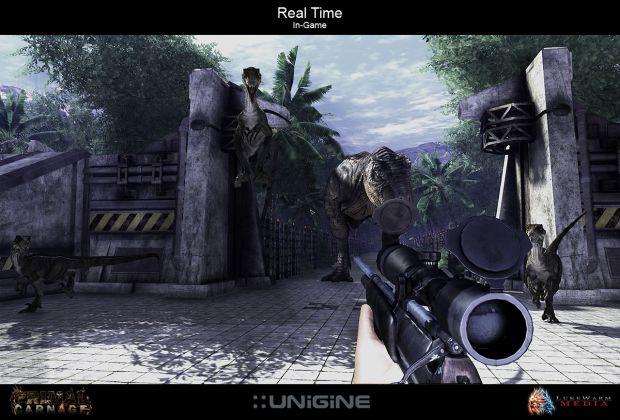 Primal Carnage - In-Game Screen Shots