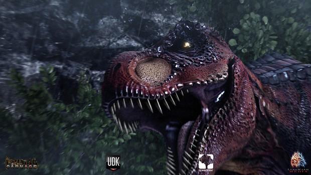 T-Rex Close Up