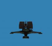 Flak 88 styled Consript cannon