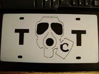 Conscript License plate