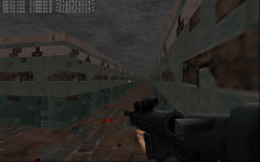 psp sniper rifle in-game test