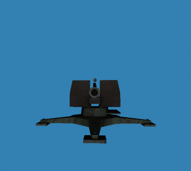 Flak 88 styled Consript cannon