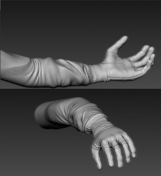 Updated hands by H4ngman