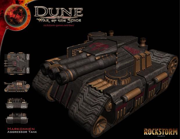 Harkonnen Aggressor Tank