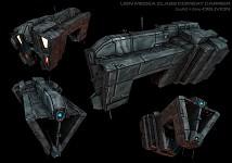 Medea Combat Carrier ~ by Oblivion