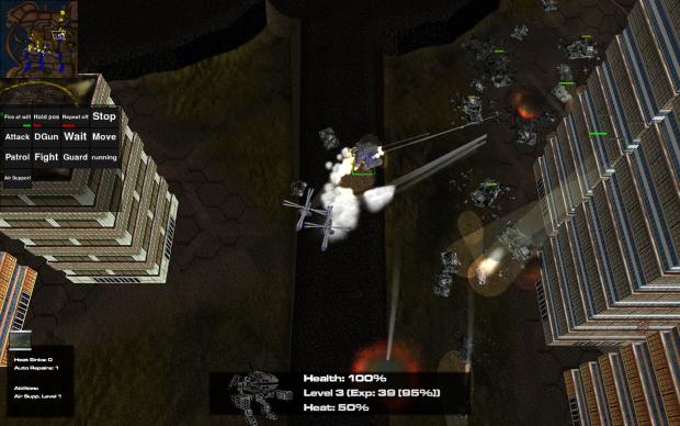 Screenshot Engines of War-Alpha