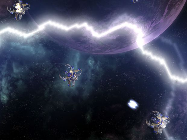 Raid Starships vs Lightning