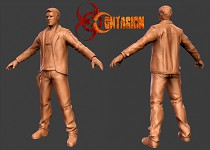 Contagion Eugene High Poly