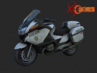 Contagion Police BMW RT1200 Motorcycle