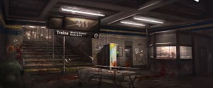 Contagion - Subway Concept Art