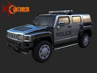 Contagion Police H2 Hummer