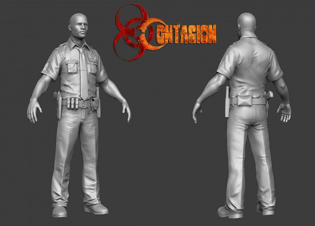 Contagion Marcus High Poly