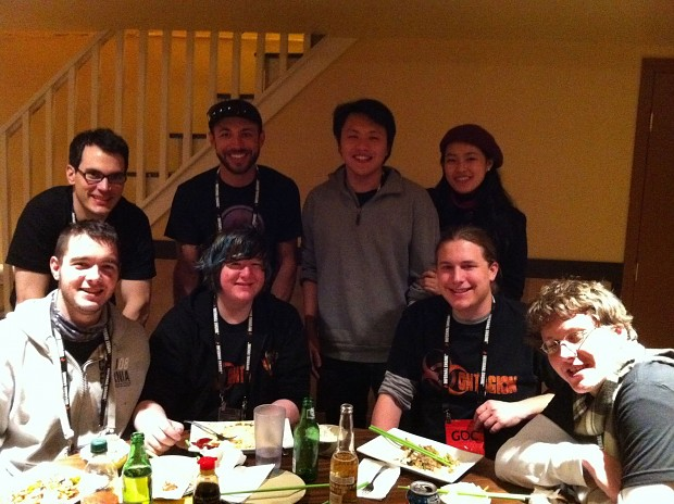 GDC 2012 - Day 3 Team Dinner