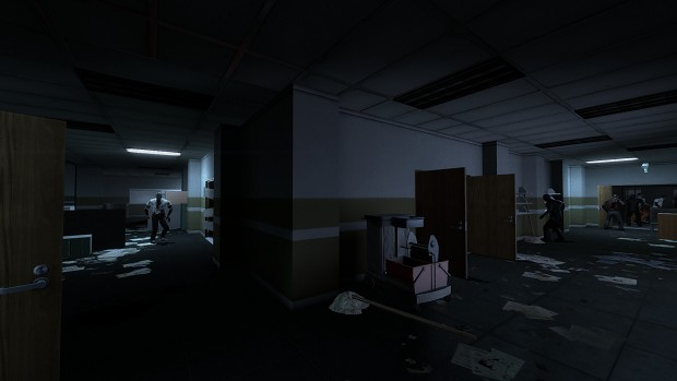 Contagion - Police Department In-game Screens