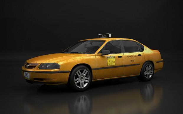 Contagion - Impala Taxi Cab