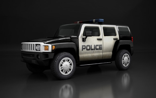 Contagion - Police Hummer