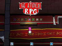 Screens from the A.Typical RPG