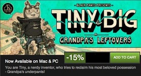 Tiny & Big on Steam Summer Sale