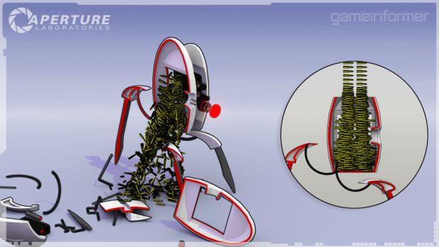 Aperture Turret Blueprints Image